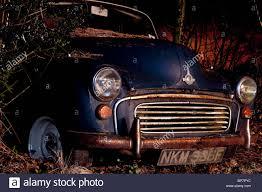 rusty car photography old rusty car at night cornwall jack moon photography stock