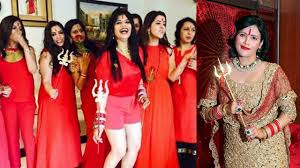 themes for kitty parties in india radhe maa themed kitty party in punjab youtube