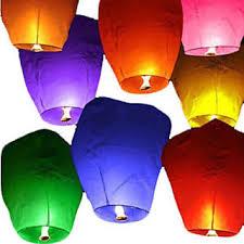 lantern kites sky lantern fly kites paper hot balloon light parachute candle diya