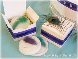 peacock wedding favors diy wedding peacock theme soap gift box