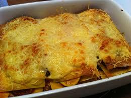 quand nad cuisine lasagnes au chorizo et courgettes la table de chrys