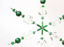 257 best beaded snowflakes images on beaded snowflake