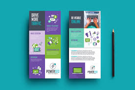 seo agency dl card template brandpacks