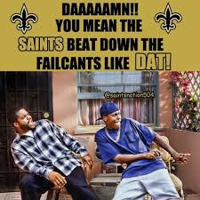 Funny Saints Memes - atlanta falcons lose to new orleans saints funny memes rolling out