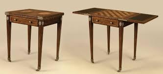 maitland smith game table maitland smith aged regency finished mahogany game table mixed wood