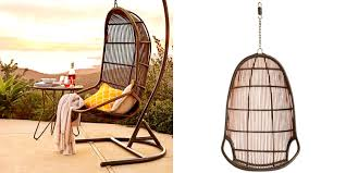 bedroom gorgeous mocha pier imports one hanging chair wicker