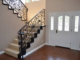 home interior railings wonderful wrought iron railing the furnitures indoor wrought iron