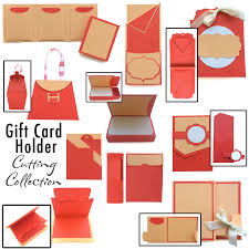 gift card holder gift card holders cutting collection pazzles craft room