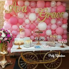 Wall Decoration With Balloons by Gorgeous Pink Balloon Wall By Party Splendour In Sydney Baby