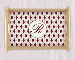 monogrammed platters and trays serving tray monogram tray wedding gift housewarming gift personal
