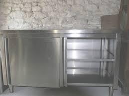 mobilier cuisine professionnel meuble bas inox professionnel table meuble cuisine meuble cuisine