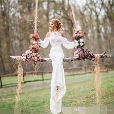 sheath wedding dress hot sale sheath wedding dress 2017 summer new casual garden sweep