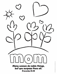 mother coloring pages coloring pages happy mothers day