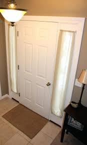 Magnetic Curtain Rod Front Doors Front Door Inspirations Front Door Curtain Rod Front