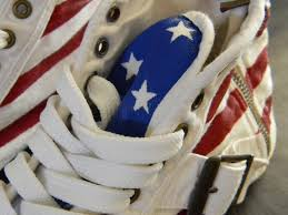 Converse American Flag Shoes Fresh Heather Diy American Flag Stars And Stripes Converse Style