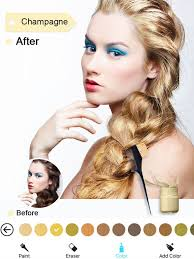 hair color dye switch hairstyles wig photo makeup on the app store