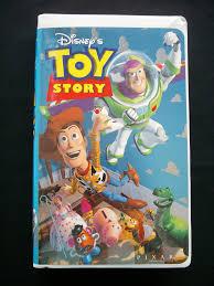disney classic toy story vhs 1996 clamshell pixar vhs