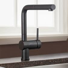 blanco 441199 linus anthracite pullout spray kitchen faucets
