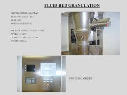 Sho Glatt fluid bed granulation switch cabinet manufacturer glatt ag ppt