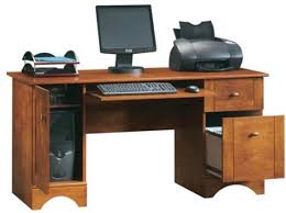 Wood Computer Desk Captivating Real Wood Computer Desk Coolest Home Design Ideas With