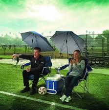 Lawn Chair With Umbrella Attached Sport Brella Umbrella Chair U2013 360 Degree Sun Protection Chair