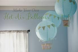 How To Make Paper Air Balloon Lantern - a loveliness make air balloons from paper lanterns