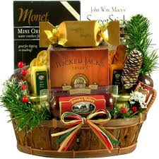 gift baskets christmas all about him gift basket for men
