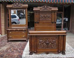 Oak Bedroom Sets Furniture by Vintage Oak Bedroom Sets Decoraci On Interior