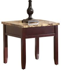 granite top end tables shop marble top end table products on houzz marble top end tables