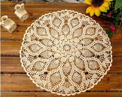 handmade crochet flower cotton lace tablecloths idyllic small