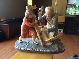 home interior masterpiece figurines home interior jesus figurines porcelain home interiors homco