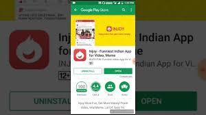 App For Video Meme - injoy fun app unlimited free paytm cash earn hindi video youtube