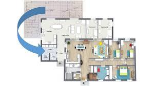 blueprint floor plan draw a floor plan from a blueprint home designer app youtube