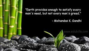 quotes by gandhi on environment famous environment quotes best