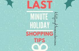 last minute shopping tips the halfway homemaker