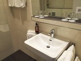 new bathrooms for the standard category hotel antares in münchen