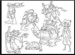 ninja turtles coloring pages free u2014 fitfru style best ninja
