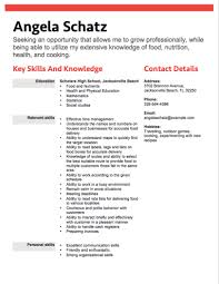 Ideal Resume For Someone With by 12 Free High Student Resume Examples For Teens