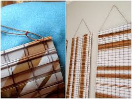repurposing bamboo blinds into art reality daydream