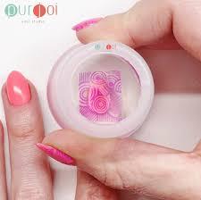 amazon com nail art jumbo clear jelly nail clear nail stamping