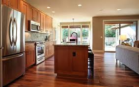 Wood Floors In Kitchen Kitchen Beautiful Kitchen Hardwood Flooring With Kitchen