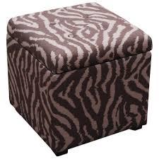 ottomans storage ottoman cube pouf ottoman world market grey