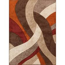 Area Rugs Orange 8 X 10 Large Brown Orange Area Rug Alpha Rc Willey