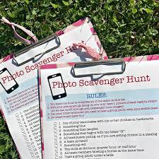 Backyard Scavenger Hunt Ideas Photo Scavenger Hunt For Tweens Free Printable Party Game Momof6