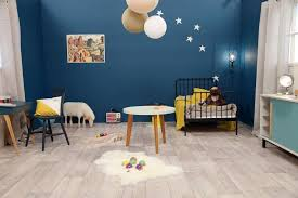 chambre fille bleu décoration chambre garcon bleu
