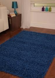 ebay area rugs new modern thick soft shaggy rug blue big carpet light deep dark