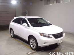 used lexus cars for sale in japan 2010 lexus rx270 pearl for sale stock no 46975 japanese used