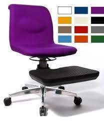 chaise de bureau violette siege de relaxation pour le bureau yog