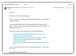 the 15 types of emails you need to send to your email list sumo