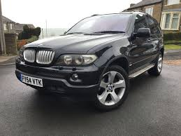 Bmw X5 Facelift - 2005 54 bmw x5 sport d auto black facelift panoramic glass roof